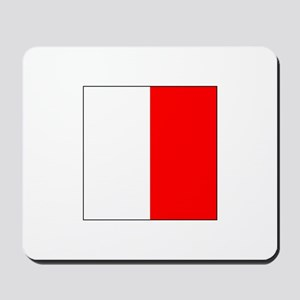 "ICS Flag Letter ""H"" Mousepad"