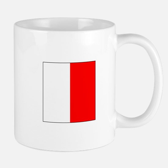 "ICS Flag Letter ""H"" Mugs"