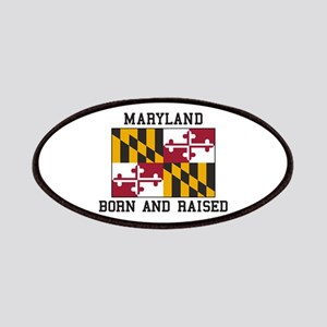 Born and Raised Maryland Patch