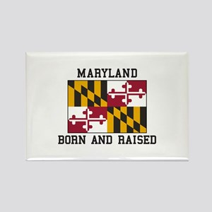 Born and Raised Maryland Magnets