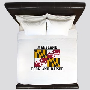 Born and Raised Maryland King Duvet