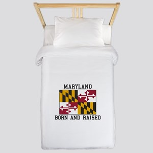 Born and Raised Maryland Twin Duvet