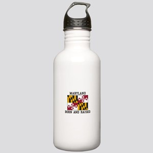 Born and Raised Maryland Water Bottle
