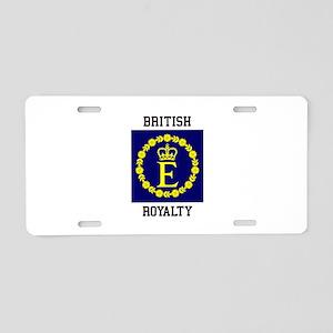 British Royalty Aluminum License Plate