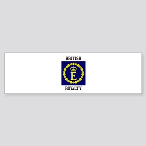British Royalty Bumper Sticker