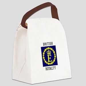 British Royalty Canvas Lunch Bag