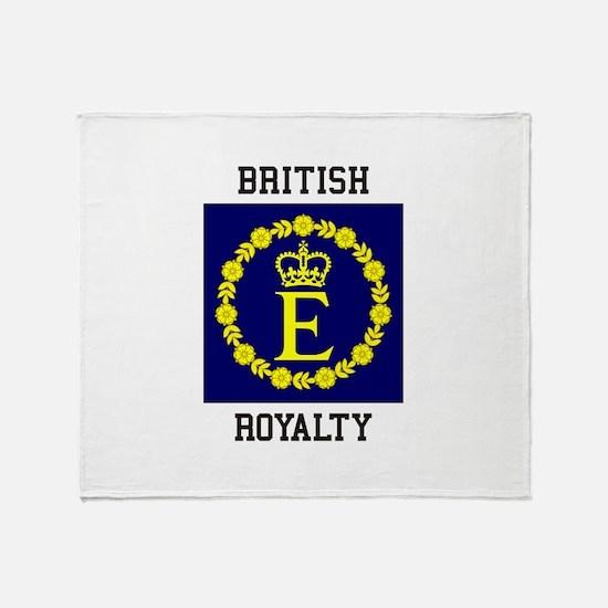 British Royalty Throw Blanket