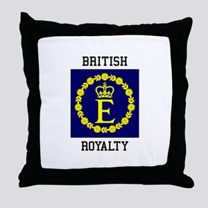 British Royalty Throw Pillow