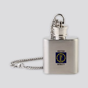 British Royalty Flask Necklace