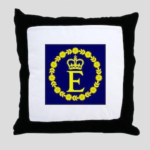 Queen Elizabeth Personal Throw Pillow
