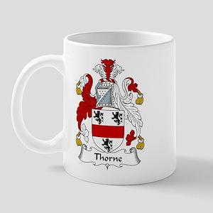 Thorne Family Crest Mug