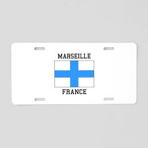 Marseille France Aluminum License Plate