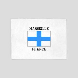 Marseille France 5'x7'Area Rug