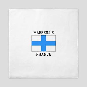 Marseille France Queen Duvet