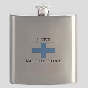 I Love Marseille Flask