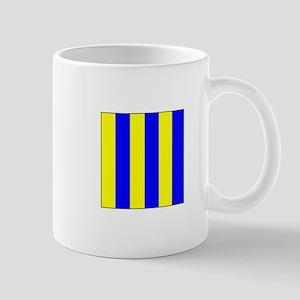 """ICS Flag Letter """"G"""" Mugs"""