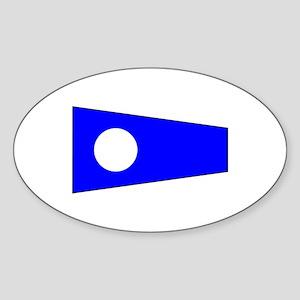 Pennant Flag Number 2 Sticker