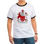 Thornburg Family Crest Ringer T