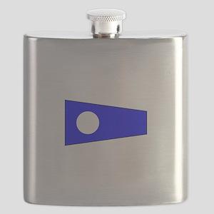 Pennant Flag Number 2 Flask
