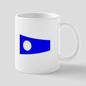Pennant Flag Number 2 Mugs