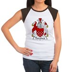 Thornburg Family Crest Women's Cap Sleeve T-Shirt