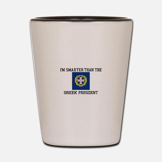 Presidential Seal Greece Shot Glass