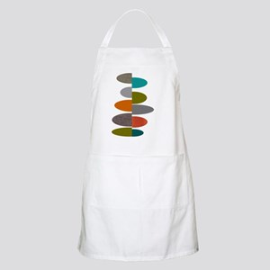 Mid-Century Modern Ovals and Abstracts Apron