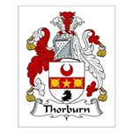 Thorburn Family Crest Small Poster