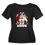 Thorburn Family Crest Women's Plus Size Scoop Nec