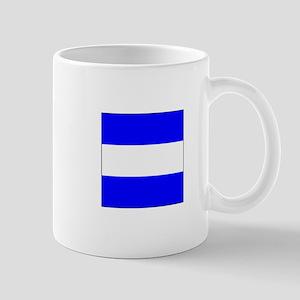 "ICS Flag Letter ""J"" Mugs"