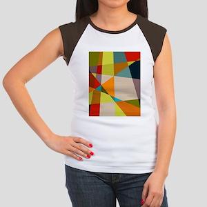 48fa35b04c380 Mid Century Modern Women s Cap Sleeve T-Shirts - CafePress