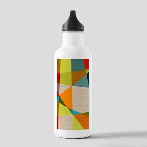 Mid Century Modern Geo Stainless Water Bottle 1.0L