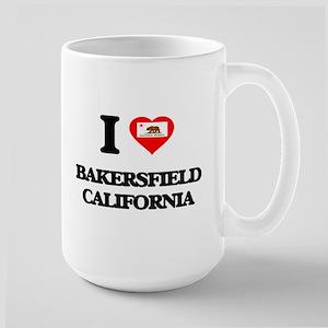 I love Bakersfield California Mugs