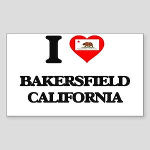 I love Bakersfield California Sticker