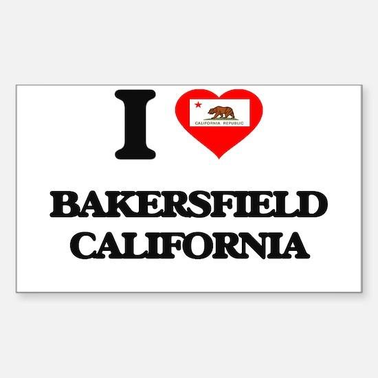 I love bakersfield california decal