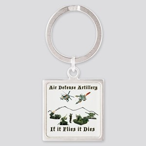 Air Defense Artillery If It Flies  Square Keychain