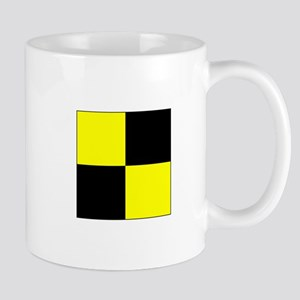 """ICS Flag Letter """"L"""" Mugs"""