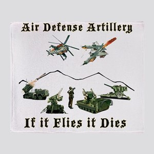 Air Defense Artillery If It Flies It Throw Blanket