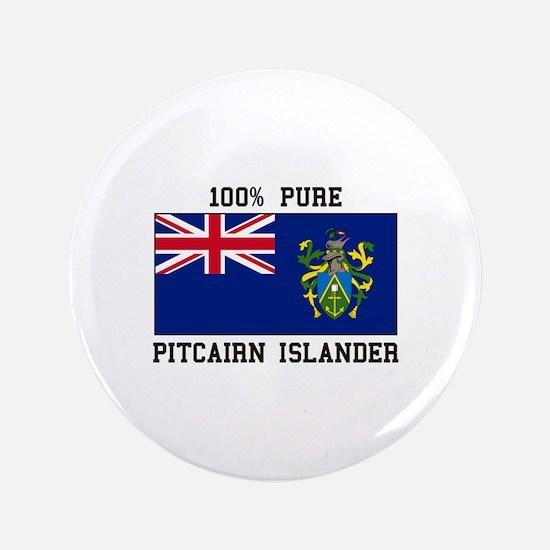 100% Pure Pitcairn Islander Button
