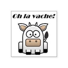 Oh la vache Sticker