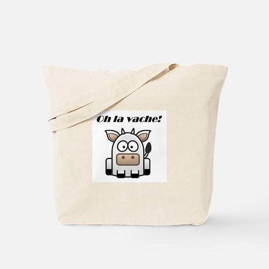 Oh la vache Tote Bag