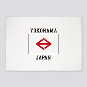 Yokohama Japan 5'x7'Area Rug