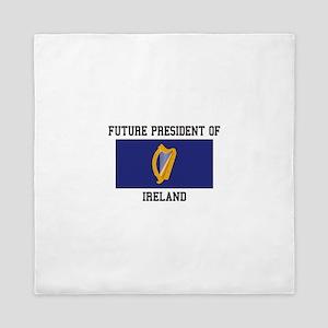 Presidential Seal Ireland Queen Duvet