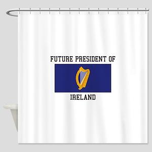 Presidential Seal Ireland Shower Curtain