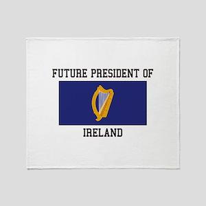 Presidential Seal Ireland Throw Blanket