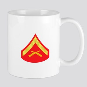 Marine Corporal Rank Mugs