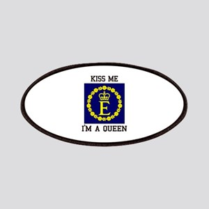 Kiss Me I'm a Queen Patch