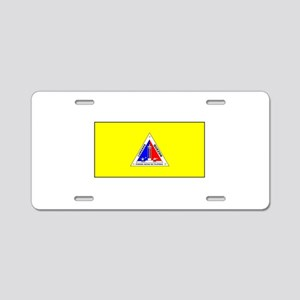 Quezon, Philippines Flag Aluminum License Plate