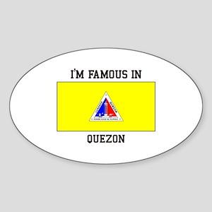 I'm Famous In Quezon Sticker