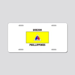 Quezon Phillippines Aluminum License Plate